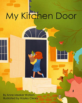 MY KITCHEN DOOR SM cover mock-up by Anne