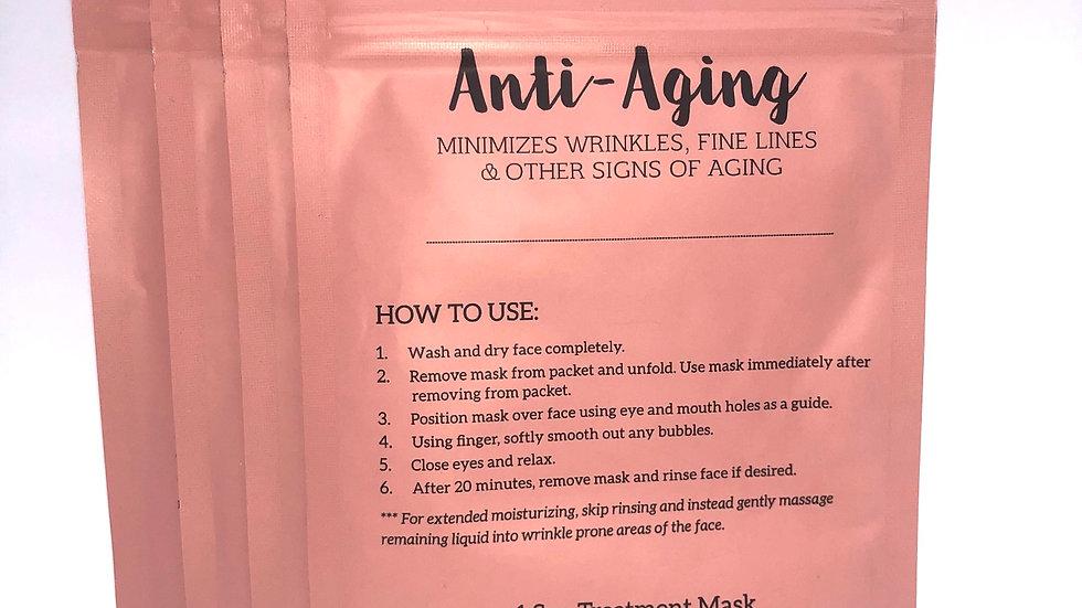 Anti-Aging Sheet Mask (4 Pack)