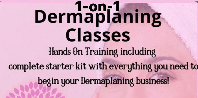 1-on-1 Dermaplaning Training