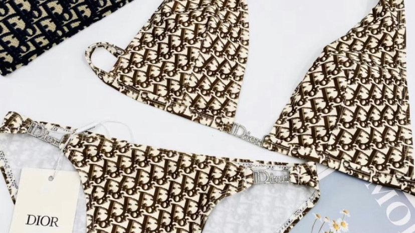 Luxe Christian Dior Diamond Bikini