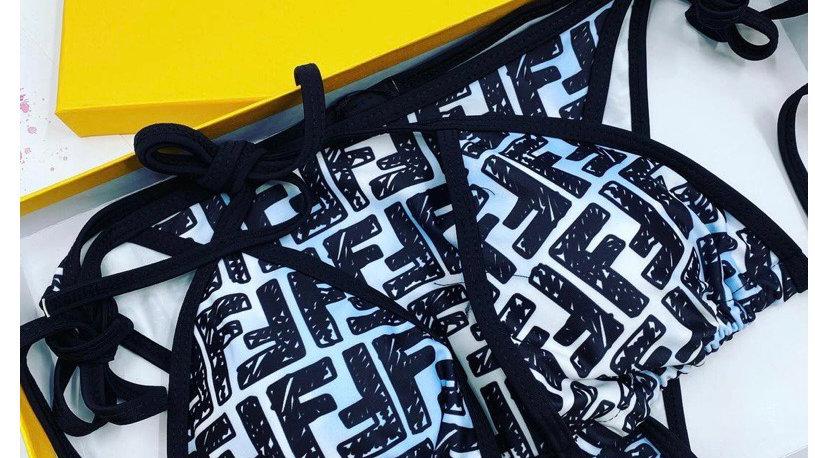 Pretty Fendi Monogram Bikini