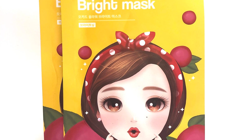 Orchid Flower Bright Mask