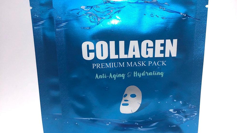 Premium Collagen Mask Pack