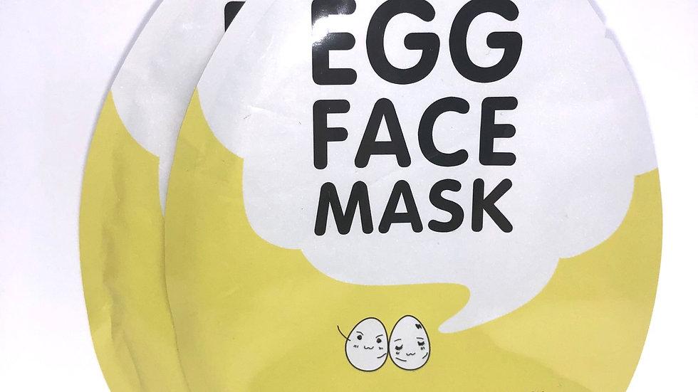 """""""Eggcellent"""" Skin Sheet Masks (2 pack)"""