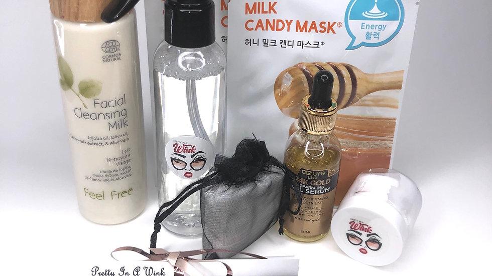 Golden Honey Sensitive Skin Calming Glow Skin Kit
