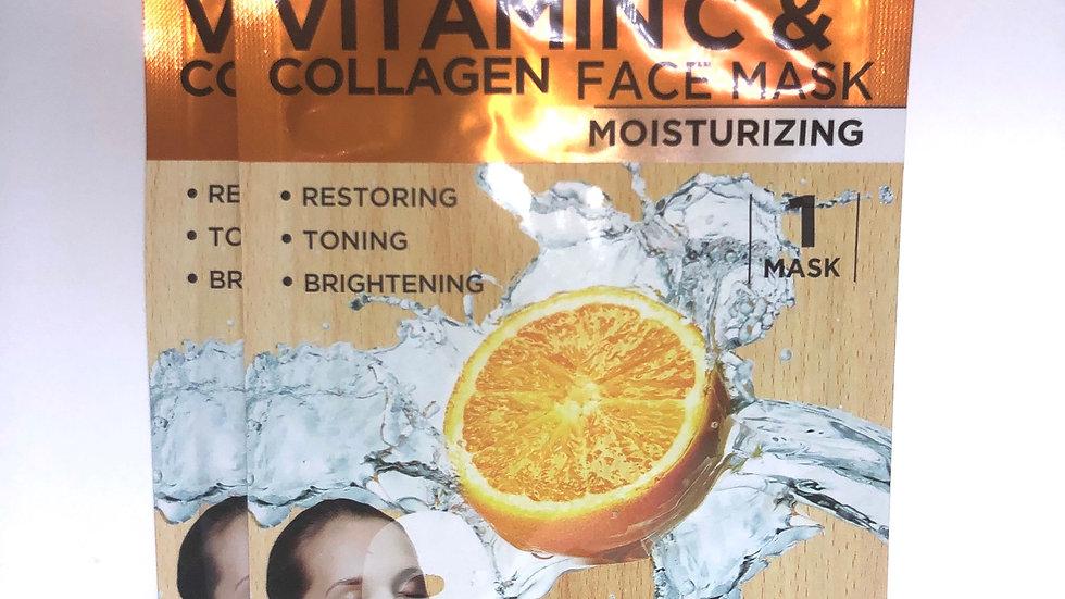 Vitamin C Complexion Brightening Mask (4 pack)