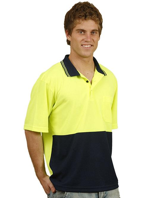 True Dry S/Sleeve Hi-Vis Polo