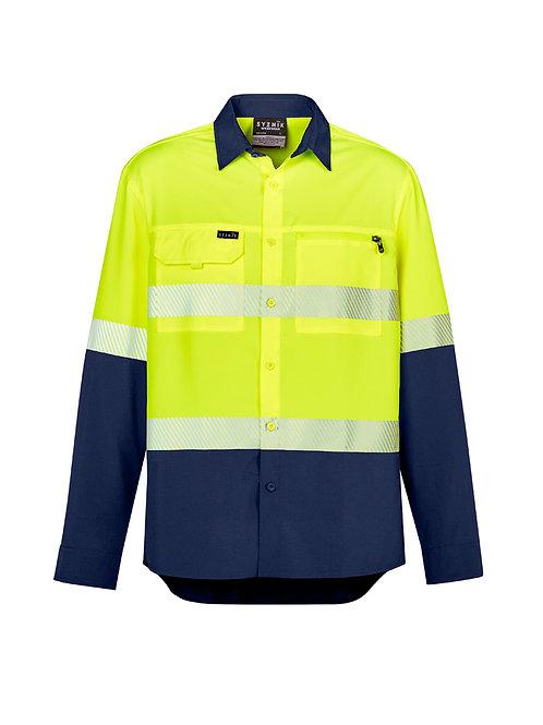Hi Vis D+N Segmented L/S Shirt