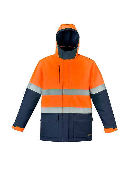 Unisex Hi Vis Antarctic Softshell Taped Jacket