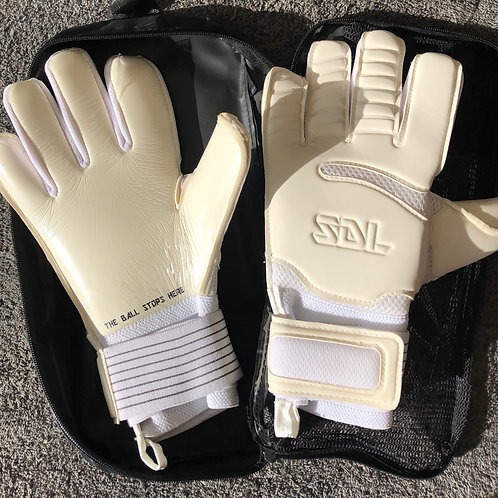 SDL ALL WHITE HYBRID GLOVE