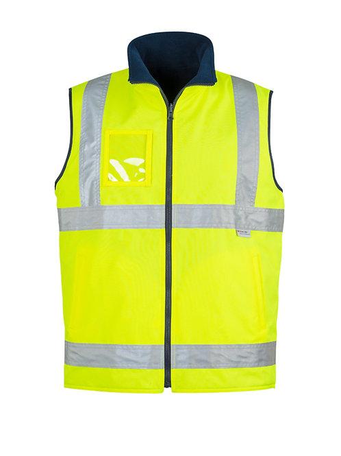 Mens Hi Vis  D + N Reversable Vest