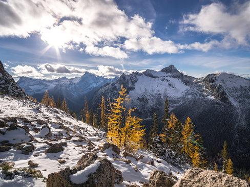 North Cascades Fall