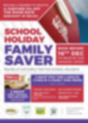 School Holiday Family Special - A4 - Lit