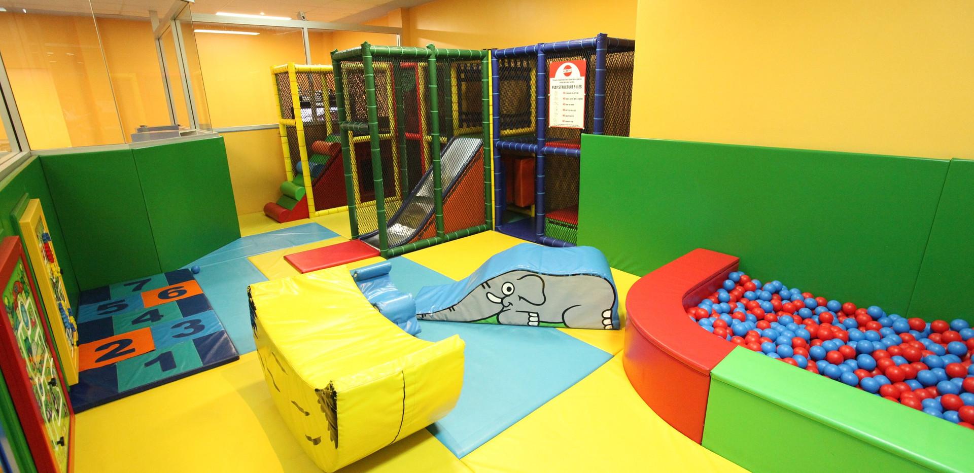 Workies Wizards Kids Room Soft Play Area