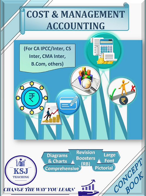 Cost Accounting Concept Book (B/W)