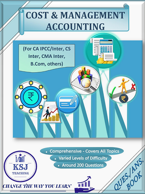 COSTING & FM QUES. BOOK COMBO