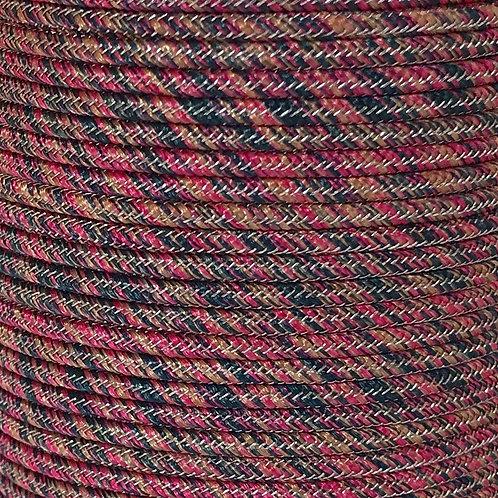 Creative Cord Pink Black - 2mm