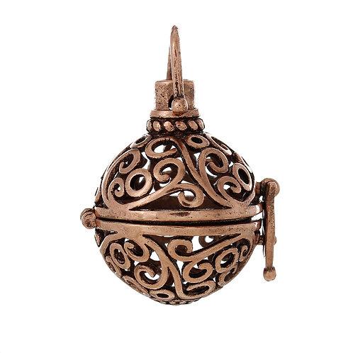 Swirl Wish Box - Copper