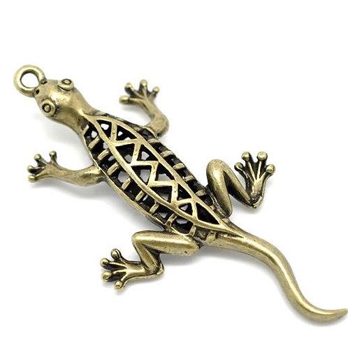 Hollow Lizard - Bronze