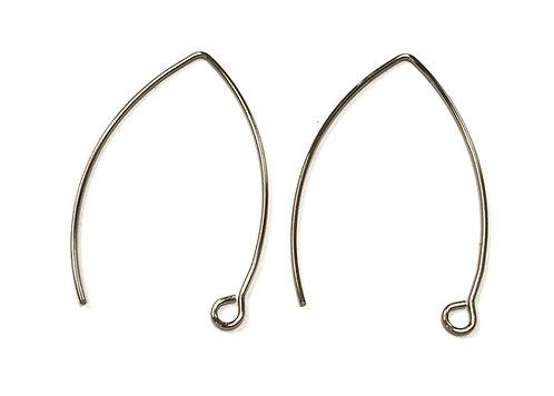 Stainless Steel Wire Earring Findings