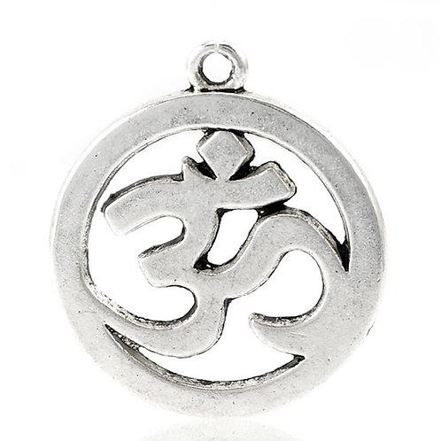 OHM Charm - Silver