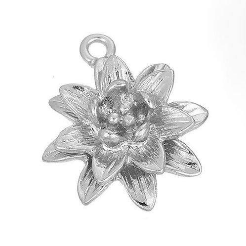 Flower - Silver