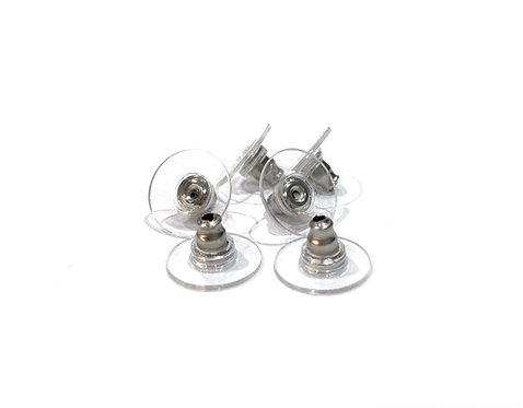 steel earring stud backs