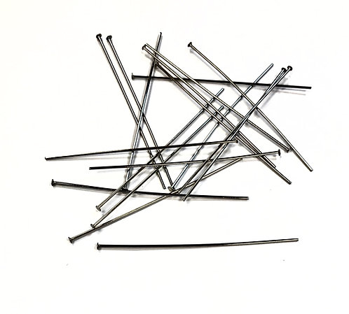 50mm - Stainless Steel Head Pins 0.7mm