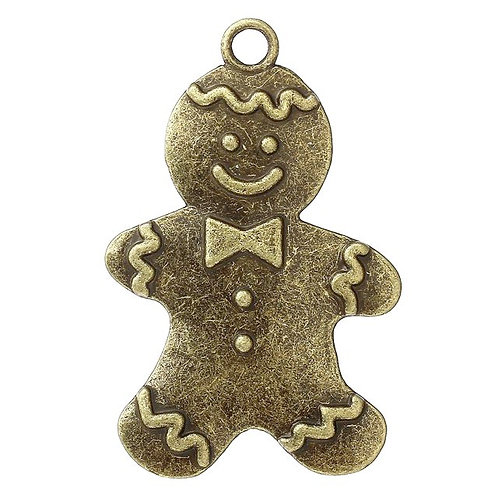 Gingerbread Man - Bronze