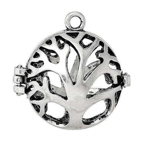 Tree Wish Box - Silver