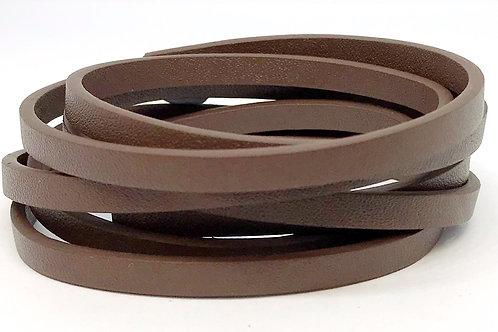 Flat Cord 5 x 2mm - Brown