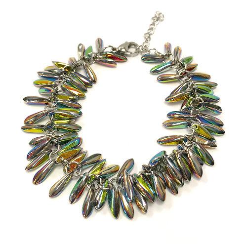rainbow colour bracelet