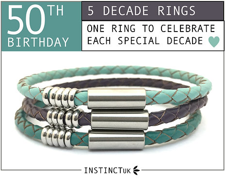50TH DECADE BRACELET FOR HER