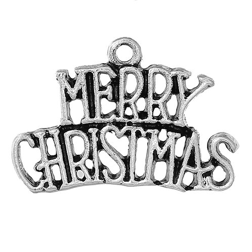 Merry Christmas - Silver
