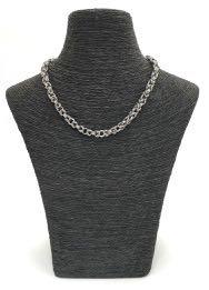 handmade chain maille byzantine necklace