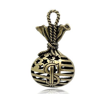 Money Bag - Bronze