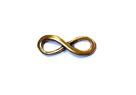 Infinity Connector/Link, Gold Tone