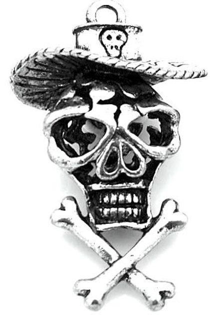 Mexican Skull - Silver