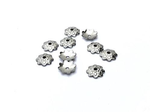 steel bead caps