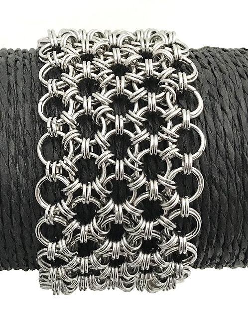 handmade chain maille bracelet