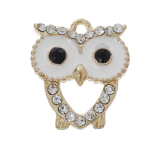 White Owl - Light Gold