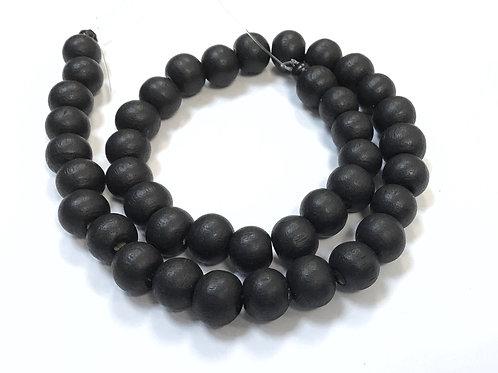 round wood beads 8mm