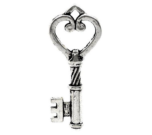 Key to my Heart - Silver
