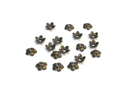 bronze bead caps