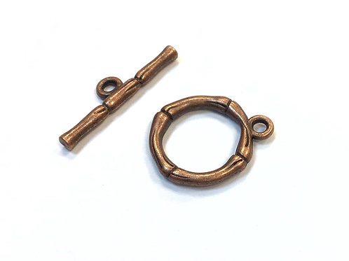 Toggle Clasp - Copper Plated