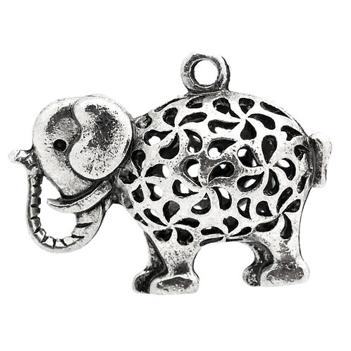 African Elephant - Silver