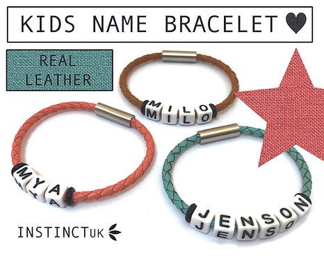 kids name bracelet