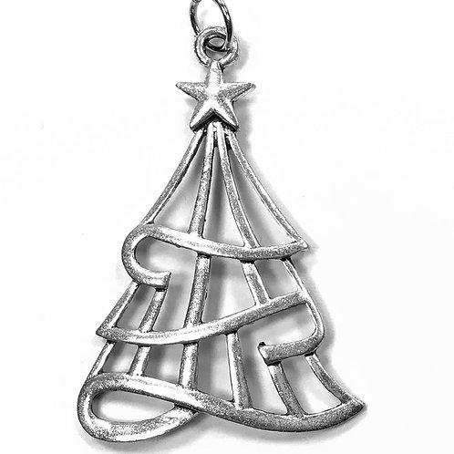 Christmas Tree - Silver