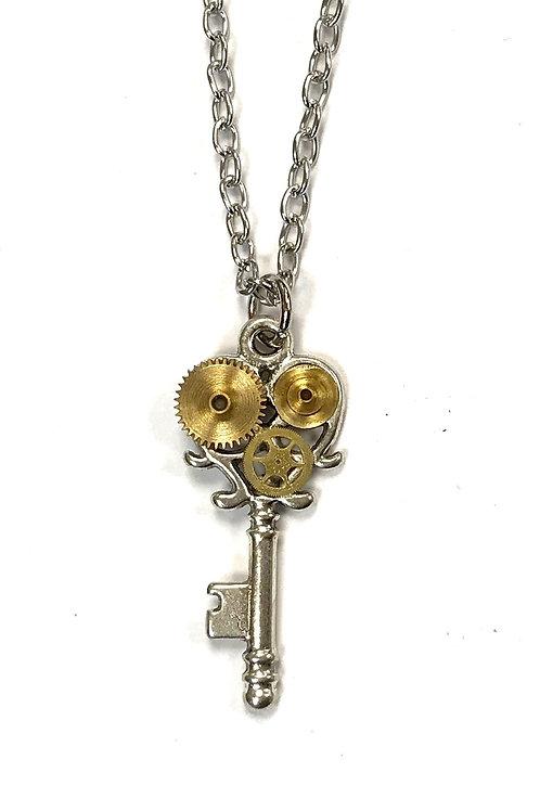 Silver Small Key