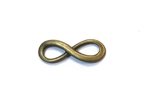Infinity Connector/Link, Bronze Tone